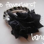 flowerburst bangle