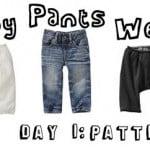 pants week day 1: patterns