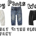 pants week day 4: the slouch pant
