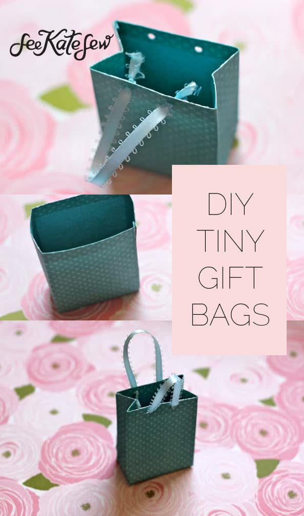 DIY Tiny Gift Bags|See Kate Sew