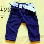 stripy belt