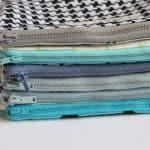 basic zipper pouch tutorial