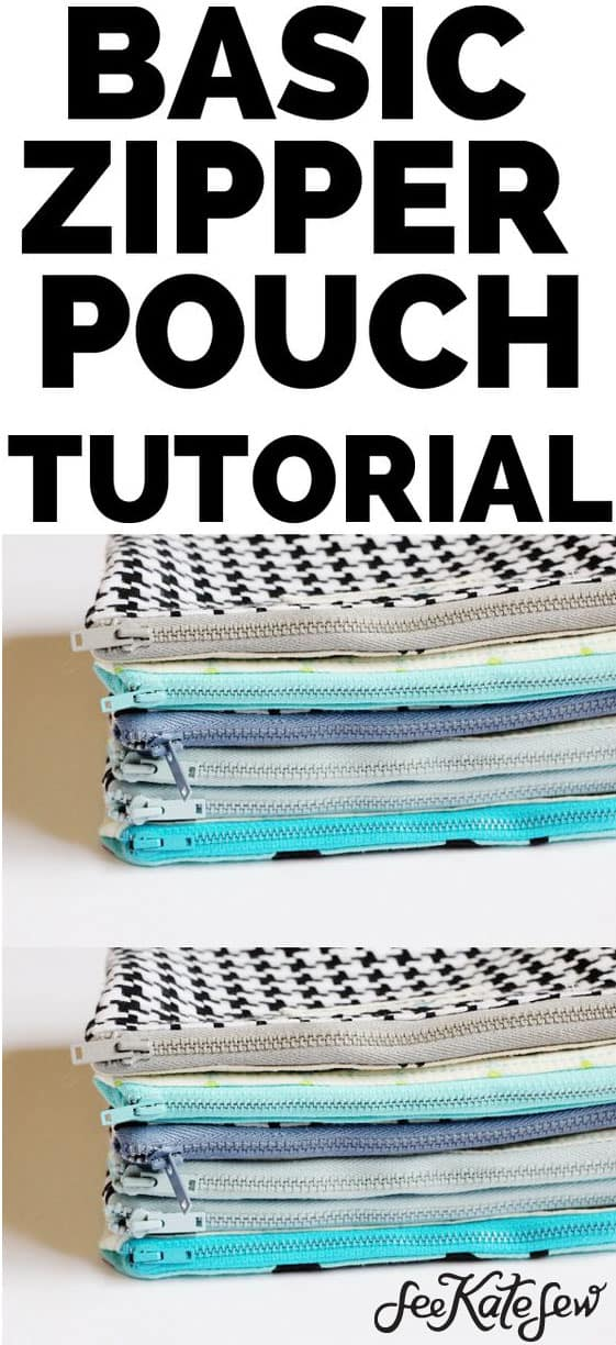 Basic Zipper Pouch | See Kate Sew