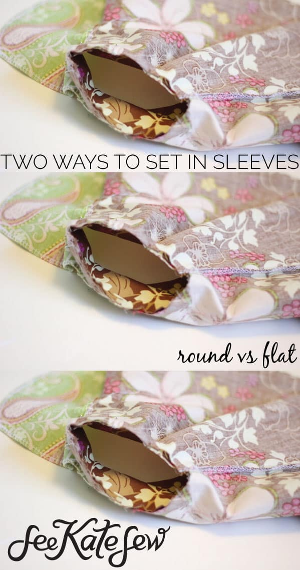 Two Ways to Set in Sleeves | See Kate Sew