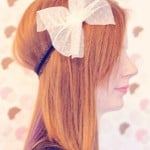the 9 to 5(1/2) faux bow headband tutorial