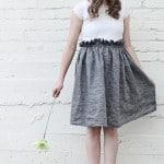 design for shabby apple – paper bag dress!