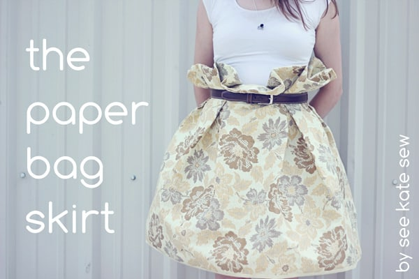 4c561a06c9 the paper bag skirt - see kate sew
