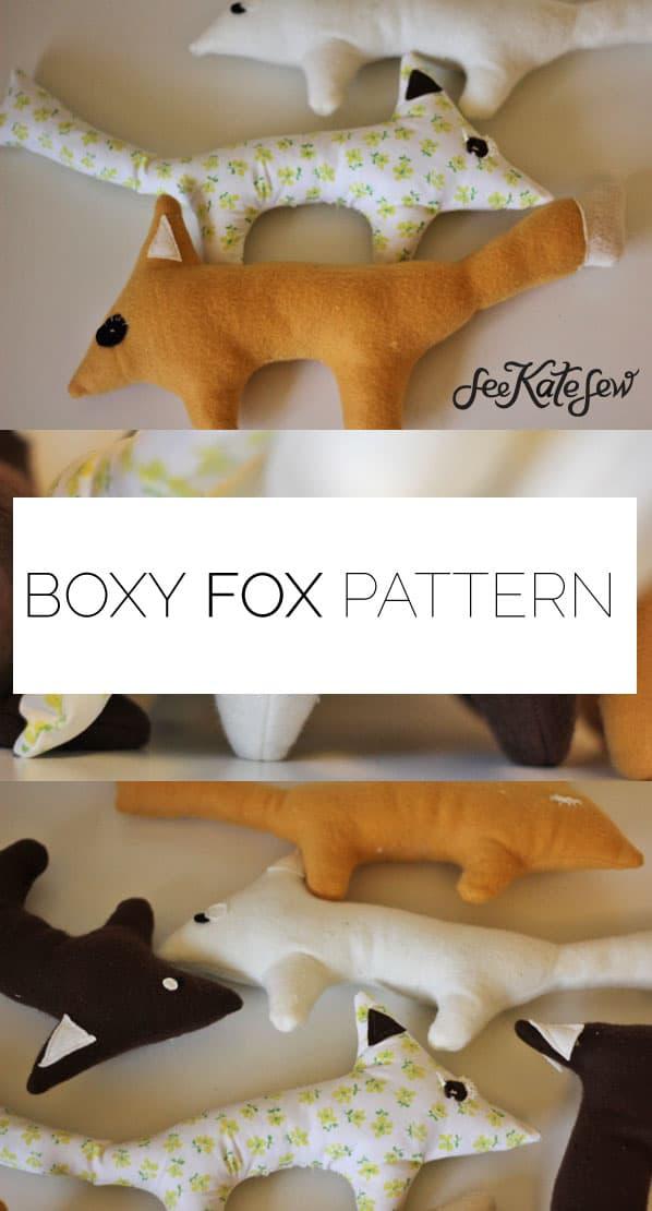 Boxy Fox Pattern|See Kate Sew