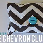 the chevron clutch tutorial + pattern