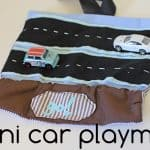 gift idea: mini car playmat