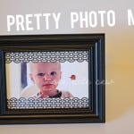 spice up your picture frame