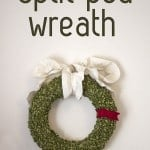 split pea…wreath