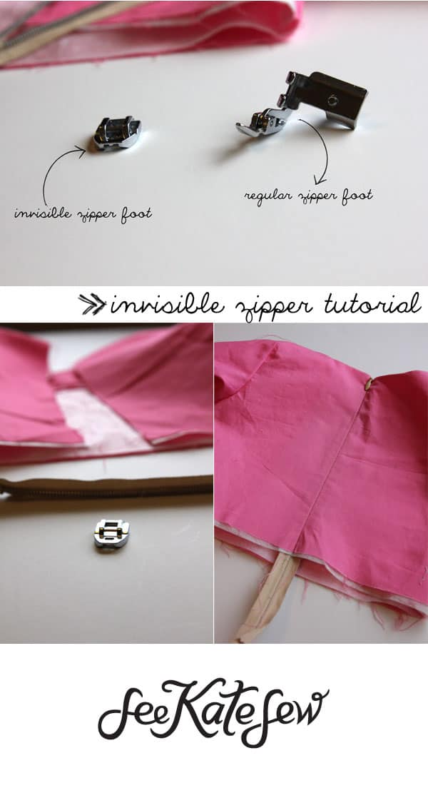 Invisible Zippers | See Kate Sew