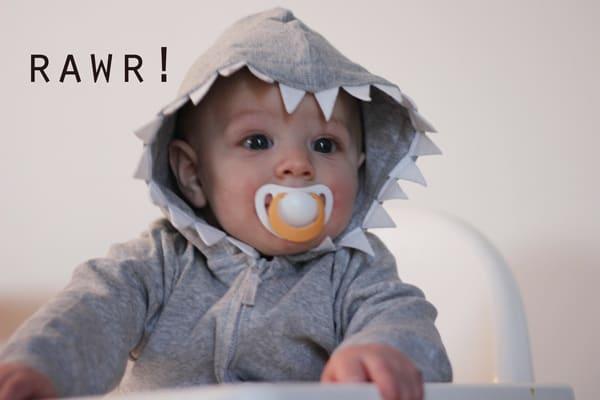 Boy Shark Hoodie