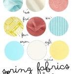 brainstorm: favorite spring fabrics