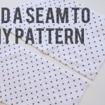 sewing101: add a seam to any pattern piece