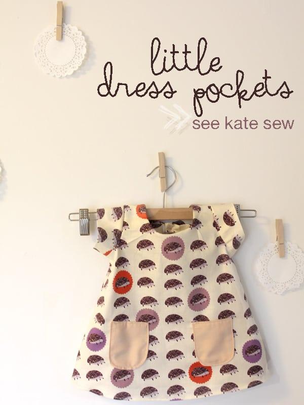 little dress pockets pattern - see kate sew
