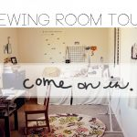 sewing room tour!