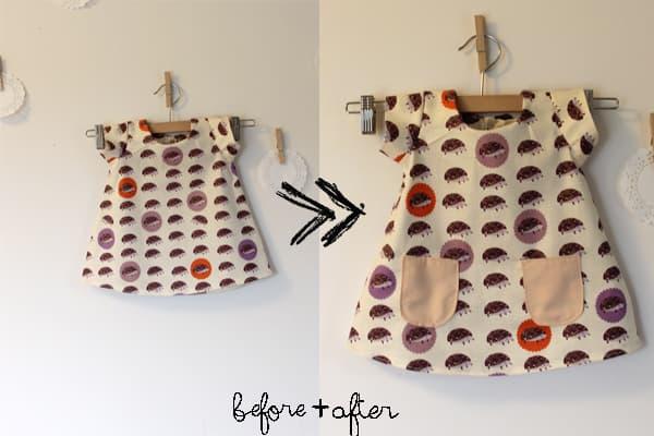 dress pocket refashion - see kate sew