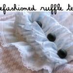 refashioned ruffle tee