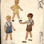 inspiration: vintage sewing for boys