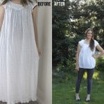 old lady nightgown to fresh modern blouse