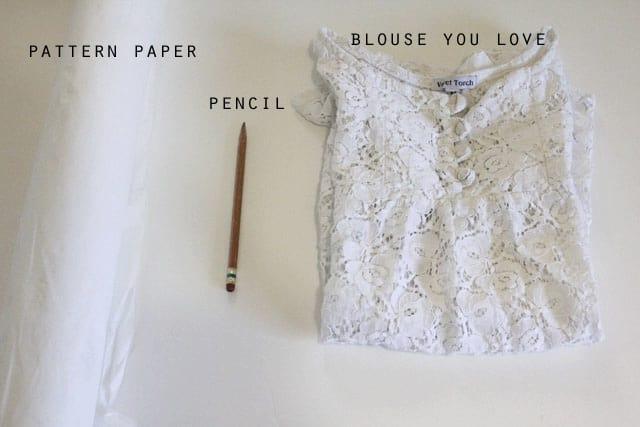Blouse Pattern Drafting 47