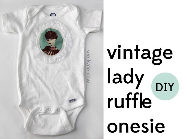 Vintage Lady Onsie