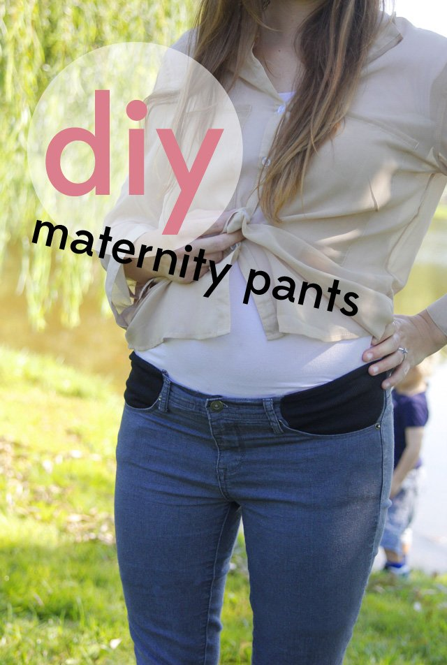 20bb7d4fc60cb stretchy pocket maternity pants tutorial - see kate sew