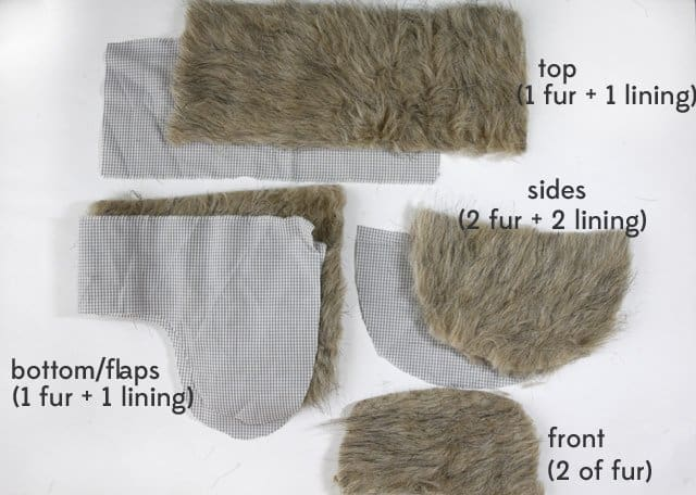 Faux Fur Trapper Hat Free Pattern See Kate Sew