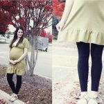 belly + baby// maternity dress + wrap-up