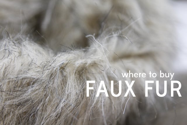 Sewing 101 Tips For With Faux Fur Where To It