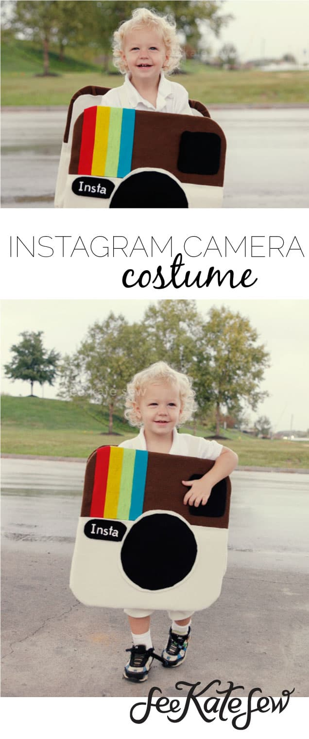 Instagram Camera Costume|See Kate Sew