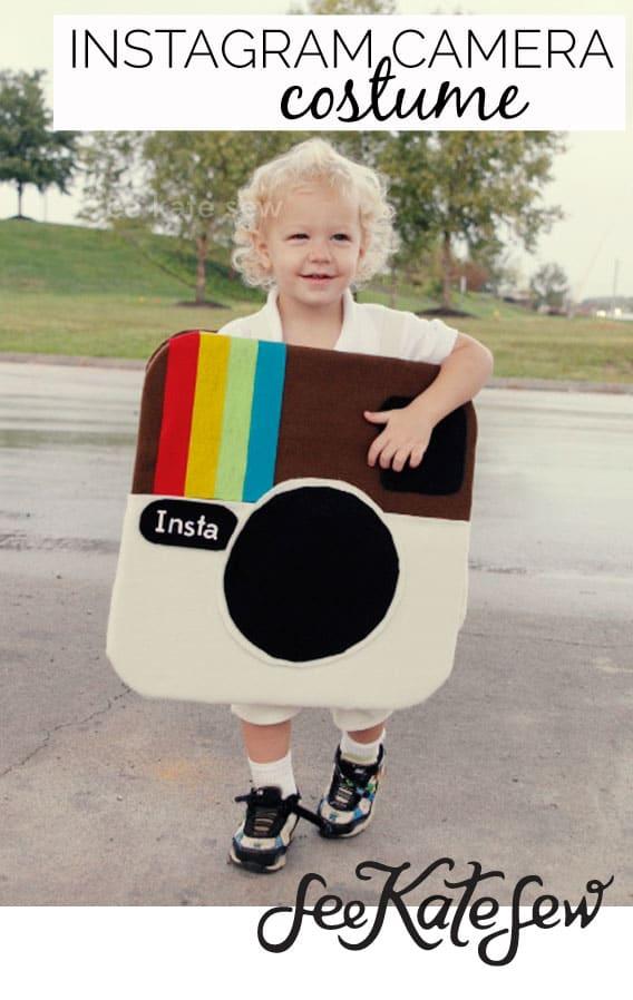 Instagram Camera Costume|See Kate Sew