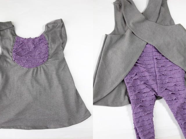 Knitted Pinafore Dress Pattern Free : FREE PATTERN: ruffle fabric pinafore - see kate sew