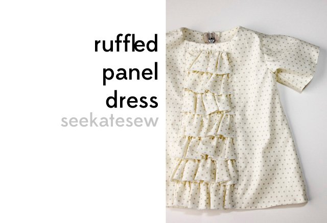Design Dress Tutorial ruffled baby dress tutorial