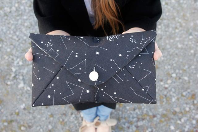 free envelope clutch pattern