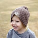 boy friday: upcycled slouchy beanie pattern + tutorial