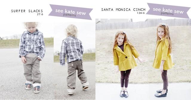 surfer slacks and santa monica cinch
