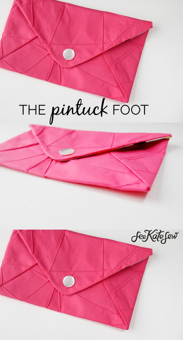 The Pintuck Foot | See Kate Sew