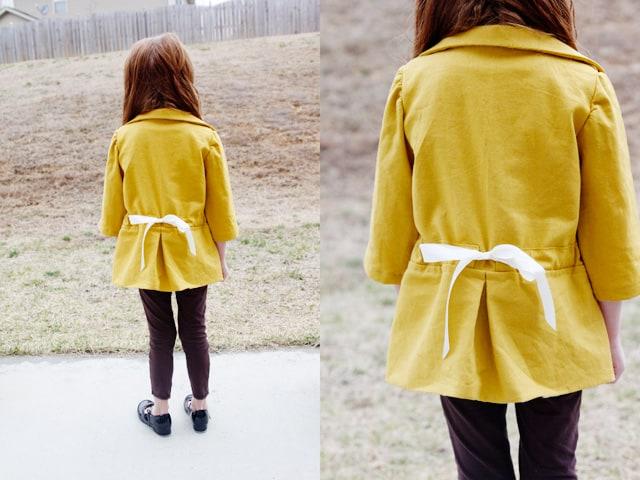 santa monica cinch girls coat