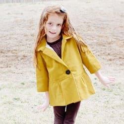 santa monica cinch girl's jacket pattern