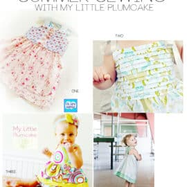 4 cute girl's sewing patterns