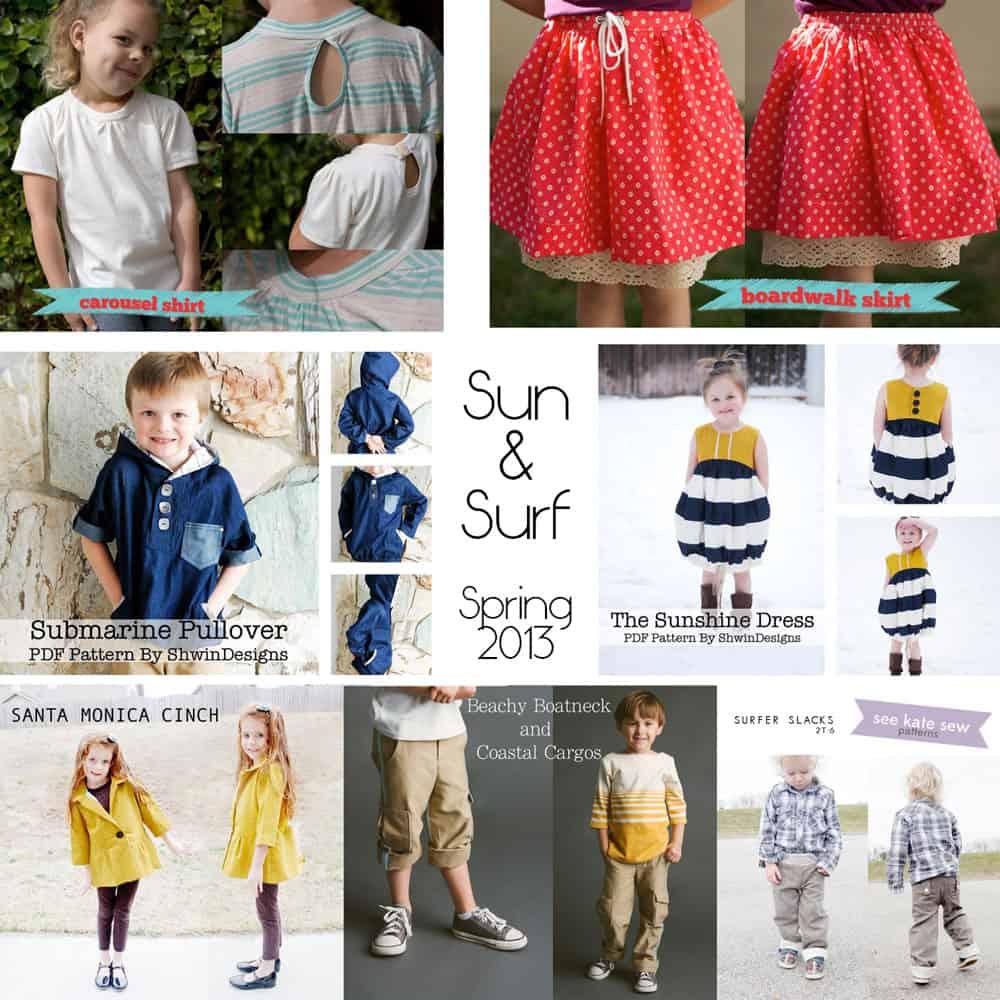 pattern anothology: sun & surf