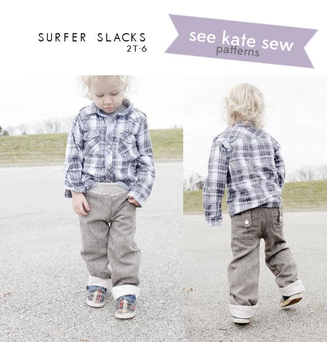 boy pants sewing pattern