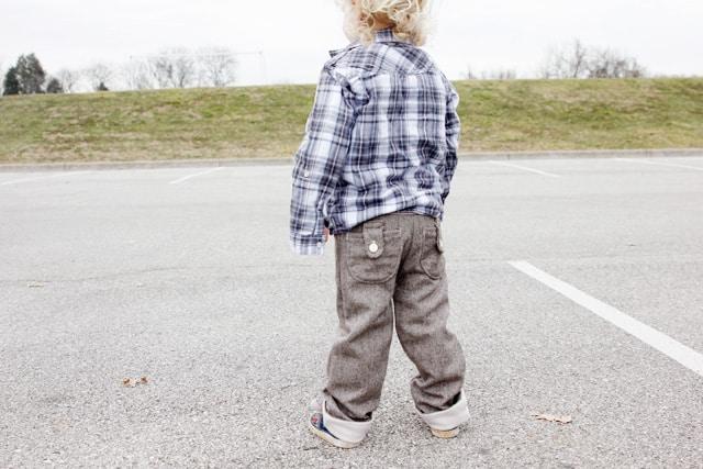 sewing pattern boy pants