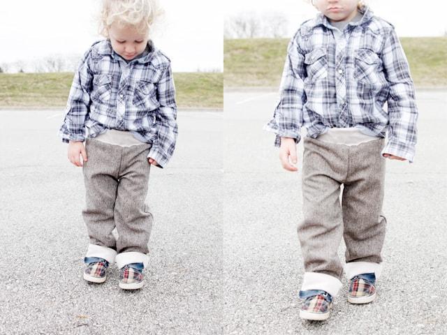 cute boy pants pattern