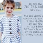 Zig Zag Pattern Tour Kick-off