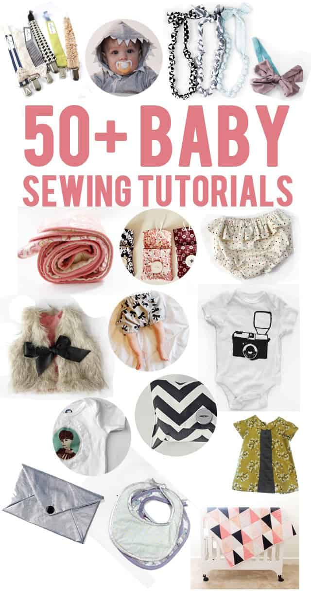 50+ baby sewing tutorials - see kate sew