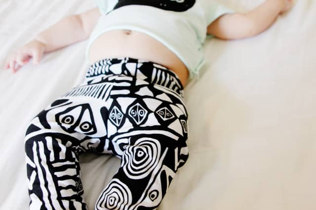 tribal baby leggings